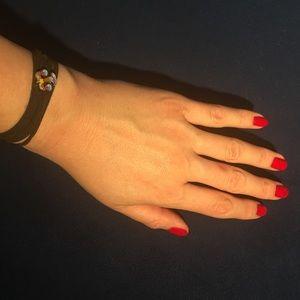 Other - LIBRA leather wrap bracelet zodiac astrology